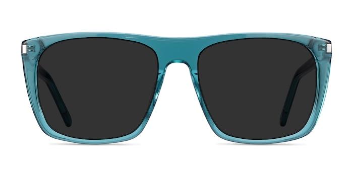 Jim Teal Acetate Sunglass Frames from EyeBuyDirect