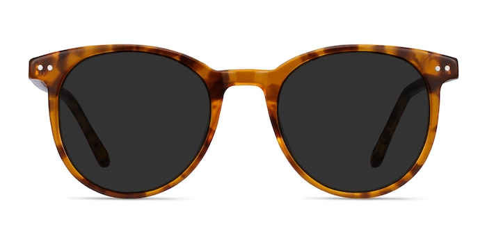 Seah Warm Tortoise Acetate Sunglass Frames from EyeBuyDirect