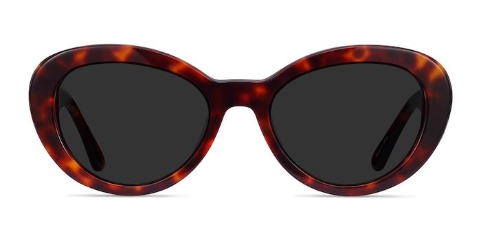 Elle Tortoise Acetate Sunglass Frames from EyeBuyDirect