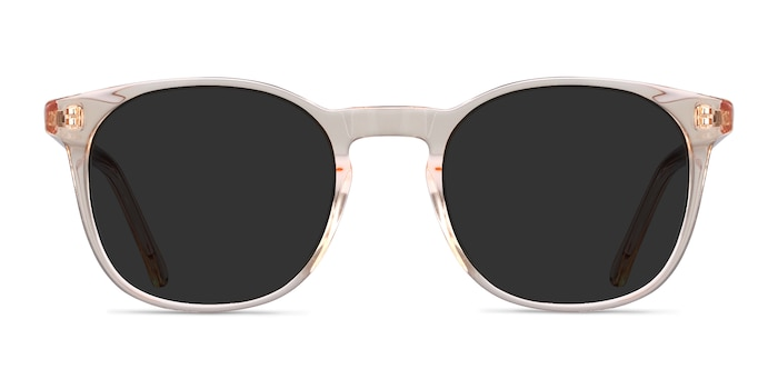 Safari Clear Melon Acetate Sunglass Frames from EyeBuyDirect