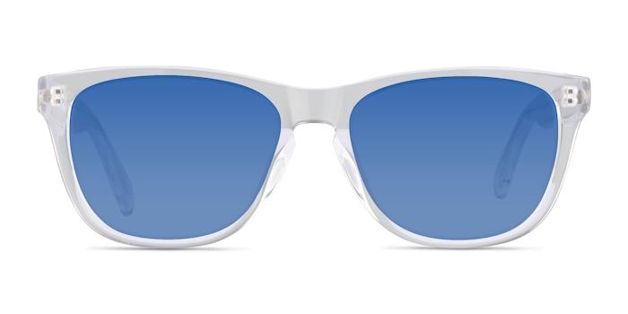Malibu Transparent Acétate Soleil de Lunette de vue d'EyeBuyDirect