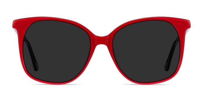 Celebration Red & Navy Acetate Sunglass Frames from EyeBuyDirect