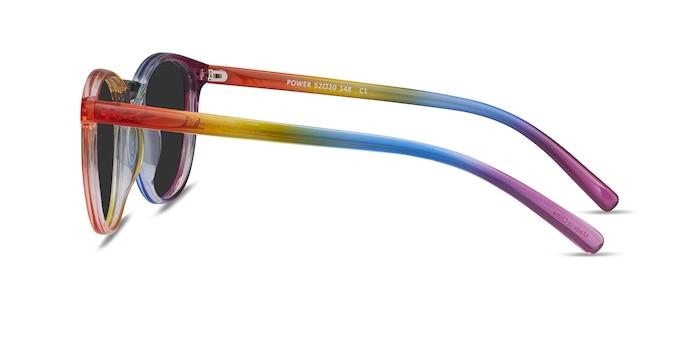 Power Rainbow Plastic Sunglass Frames from EyeBuyDirect