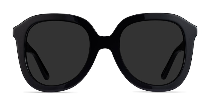 Wendy Black Acetate Sunglass Frames from EyeBuyDirect
