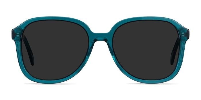 Brent Blue Acetate Sunglass Frames from EyeBuyDirect