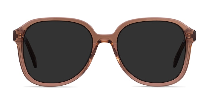 Brent Brown Acetate Sunglass Frames from EyeBuyDirect