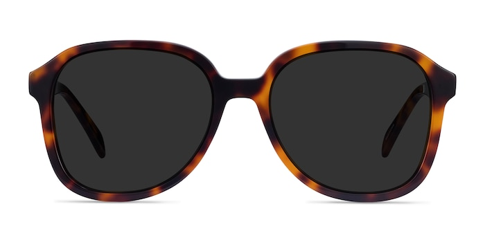 Brent Tortoise Acetate Sunglass Frames from EyeBuyDirect