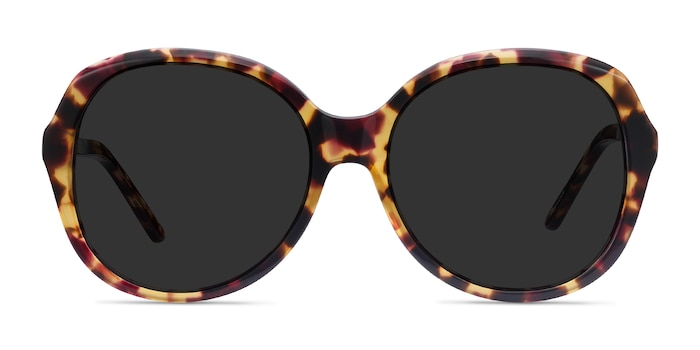Sheila Tortoise Acetate Sunglass Frames from EyeBuyDirect