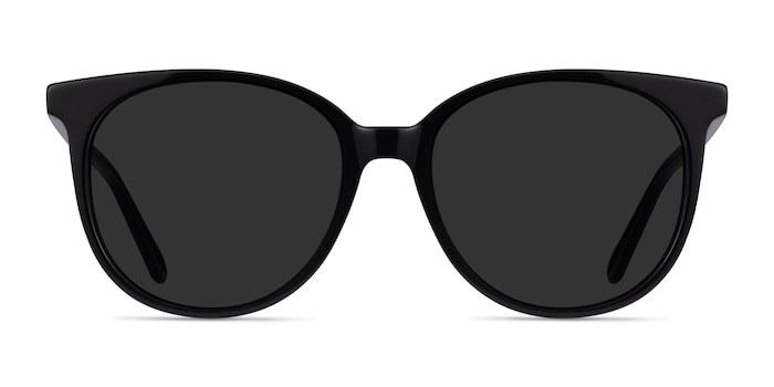 Sun Bardot Black Acetate Sunglass Frames from EyeBuyDirect