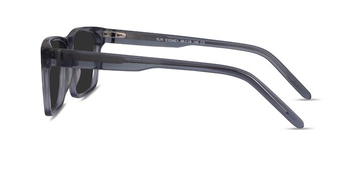 Sun Sydney Clear Gray Acetate Sunglass Frames from EyeBuyDirect
