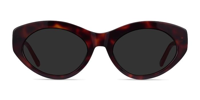 Fabulous Tortoise & Red Acétate Soleil de Lunette de vue d'EyeBuyDirect