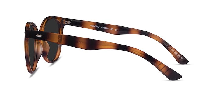 Domino Tortoise Plastic Sunglass Frames from EyeBuyDirect