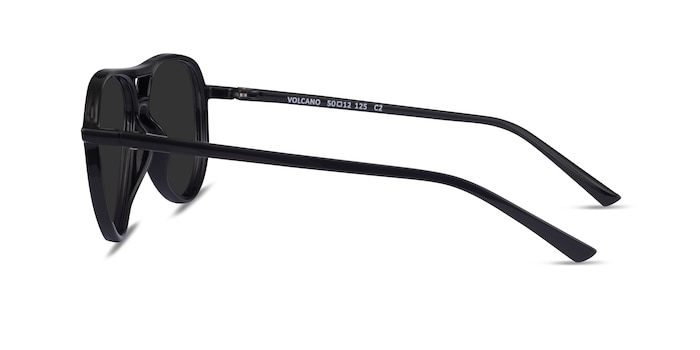 Volcano Black Plastic Sunglass Frames from EyeBuyDirect