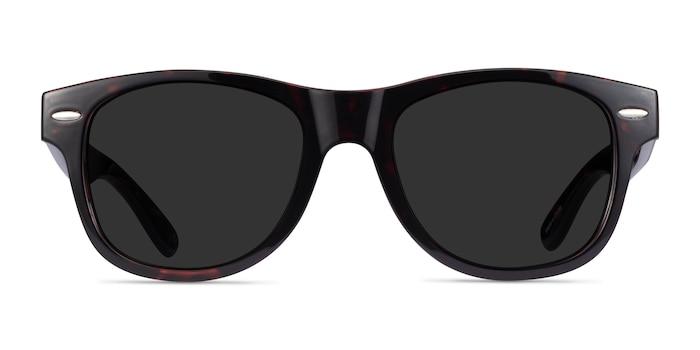 Chess Red Tortoise Plastic Sunglass Frames from EyeBuyDirect