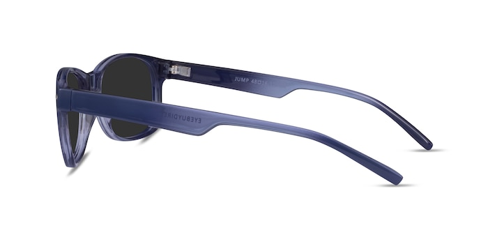 Jump Blue Plastic Sunglass Frames from EyeBuyDirect