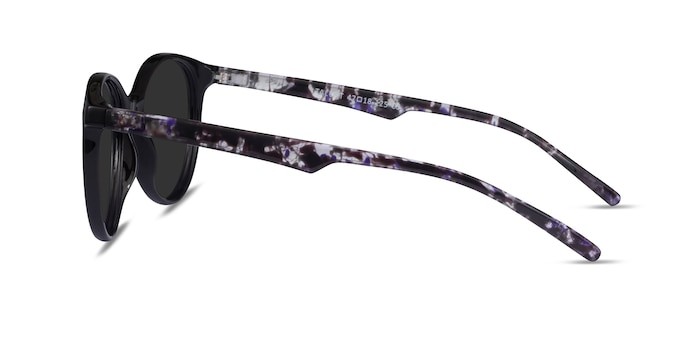 Talent Black Floral Plastic Sunglass Frames from EyeBuyDirect