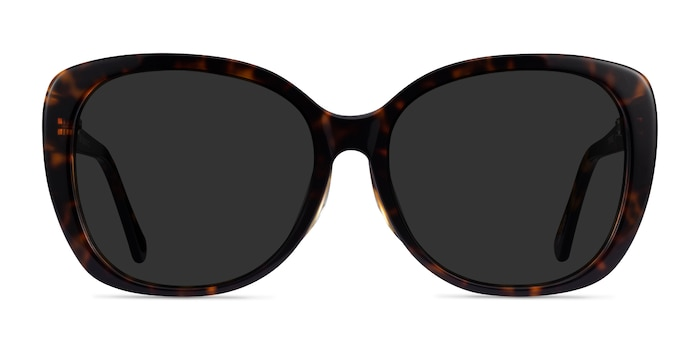 Sherry Tortoise Acetate Sunglass Frames from EyeBuyDirect