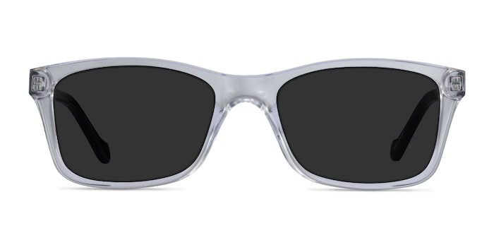 Tennis Clear Black Acetate Sunglass Frames from EyeBuyDirect