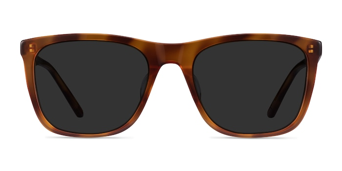 Cortado Honey Tortoise Acetate Sunglass Frames from EyeBuyDirect