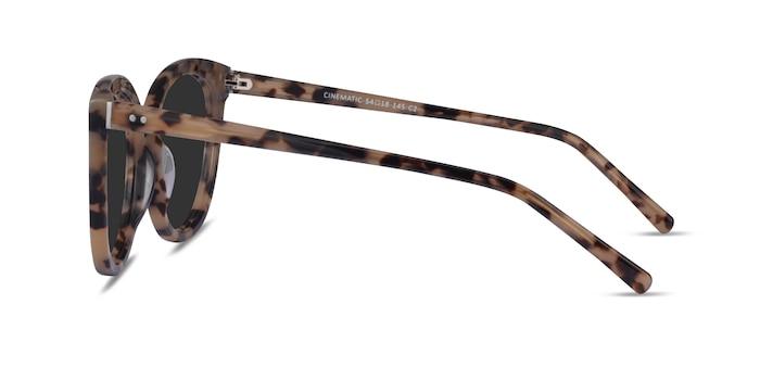 Cinematic Ivory Tortoise Acetate Sunglass Frames from EyeBuyDirect
