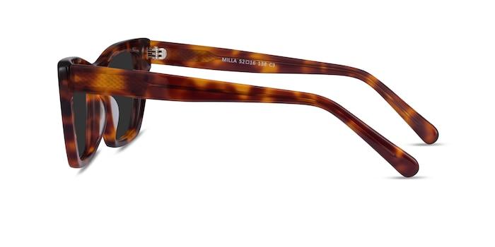 Milla Tortoise Acetate Sunglass Frames from EyeBuyDirect