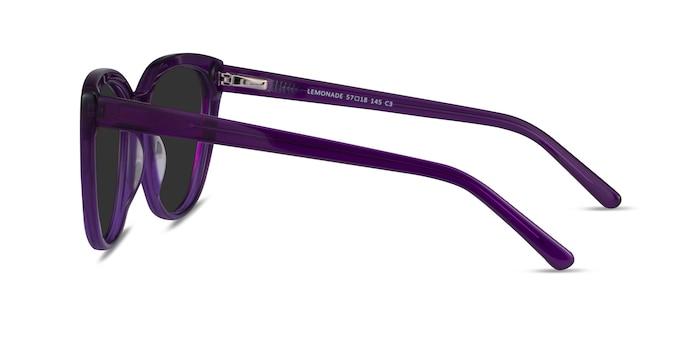 Lemonade Purple Acetate Sunglass Frames from EyeBuyDirect