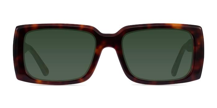 Impression Tortoise Acetate Sunglass Frames from EyeBuyDirect