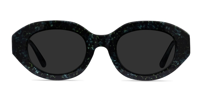 Swan Floral Acetate Sunglass Frames from EyeBuyDirect