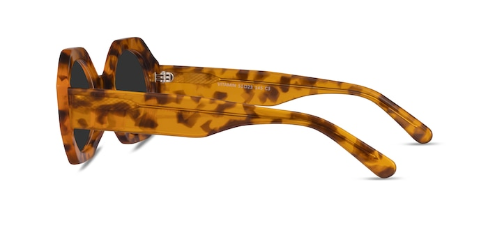 Vitamin Warm Tortoise Acetate Sunglass Frames from EyeBuyDirect