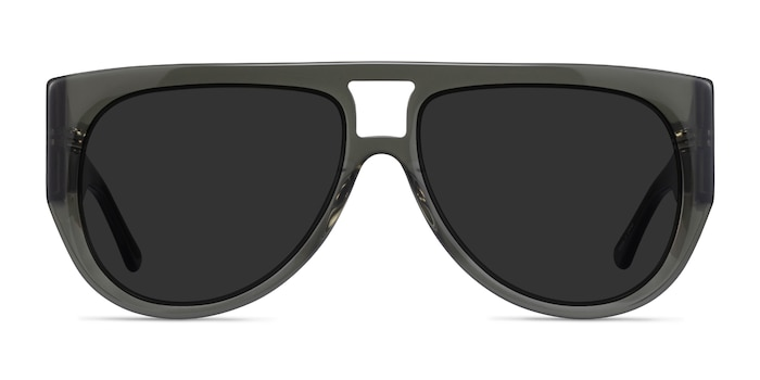 Southwest Clear Green Acetate Sunglass Frames from EyeBuyDirect