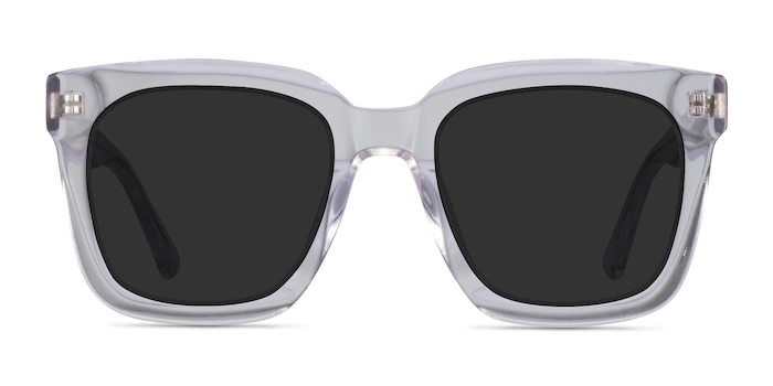 Los Angeles Clear Acetate Sunglass Frames from EyeBuyDirect