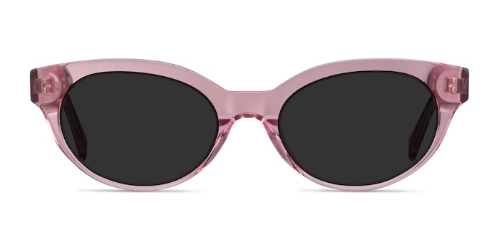 Vacation Clear Pink Acetate Sunglass Frames from EyeBuyDirect