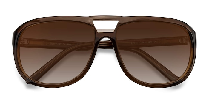 Brown Blair -  Acetate Sunglasses