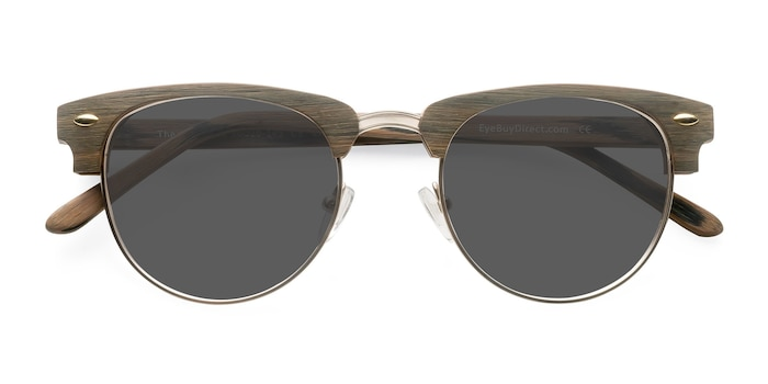 Brun/Or The Hamptons -  Vintage Acétate Solaires