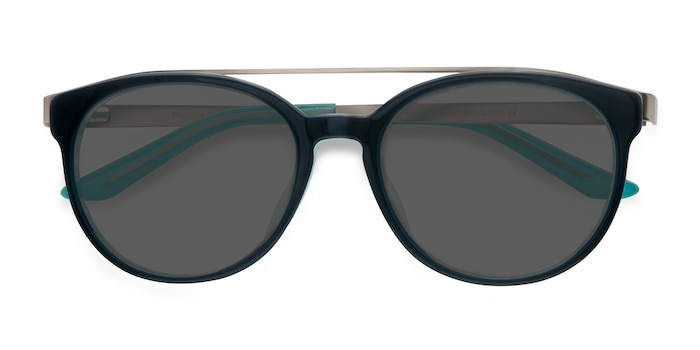 Navy silver Morning Breeze -  Metal Sunglasses
