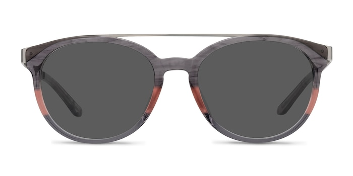Morning Breeze Gray Pink Acetate-metal Sunglass Frames from EyeBuyDirect