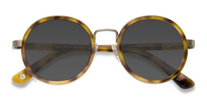 Tortoise Bounce -  Vintage Acetate Sunglasses