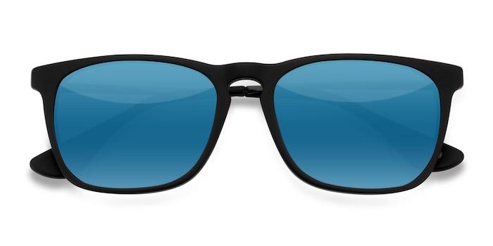Matte Black Bogota -  Metal Sunglasses