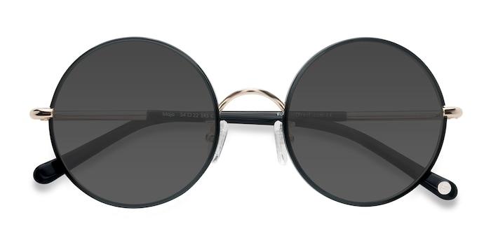 Black Mojo -  Vintage Acetate Sunglasses