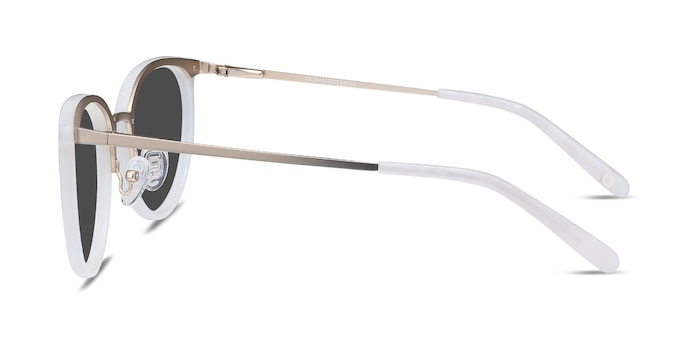 Crush Ivory Acetate-metal Sunglass Frames from EyeBuyDirect