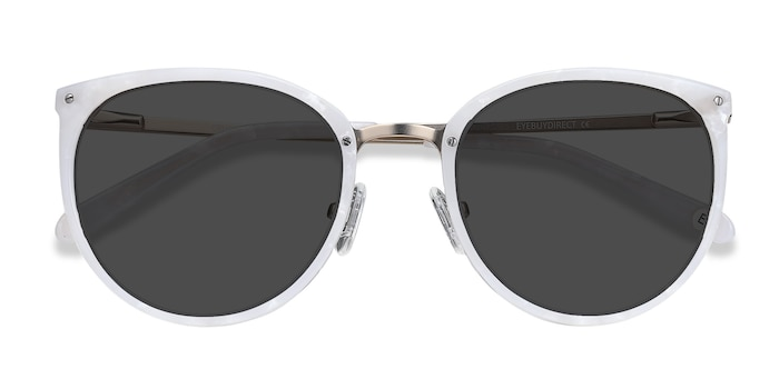 Ivory Crush -  Metal Sunglasses