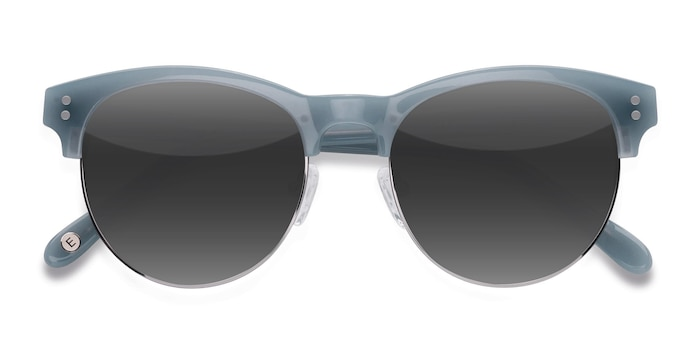 Light Blue College -  Vintage Acetate Sunglasses