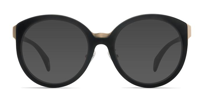 Sunshine Black Acetate Sunglass Frames from EyeBuyDirect