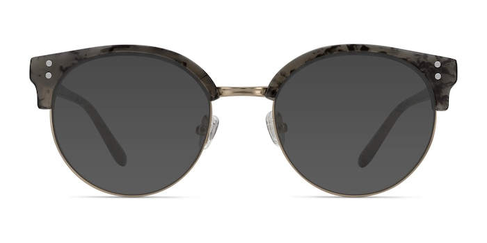 Samba Dark Marble Plastic-metal Sunglass Frames from EyeBuyDirect