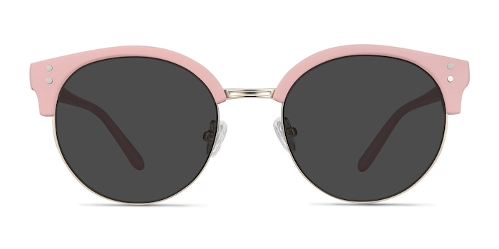 Samba Pink Plastic-metal Sunglass Frames from EyeBuyDirect