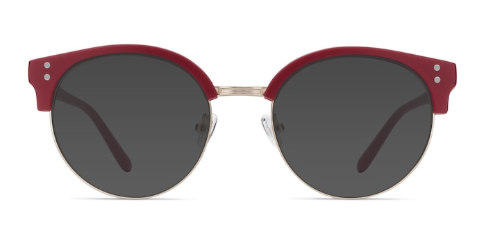 Samba Red Plastic-metal Sunglass Frames from EyeBuyDirect