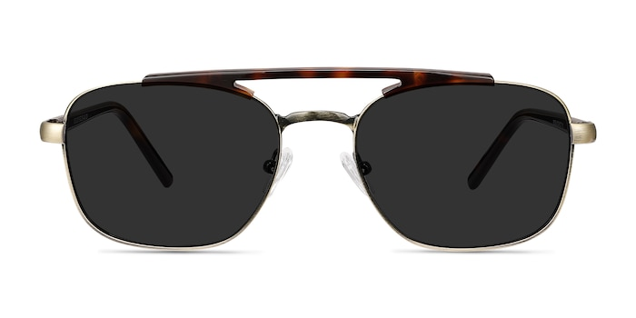 Decode Tortoise Bronze Acetate-metal Sunglass Frames from EyeBuyDirect