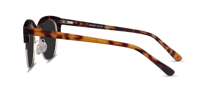 Strata Tortoise Acetate-metal Sunglass Frames from EyeBuyDirect