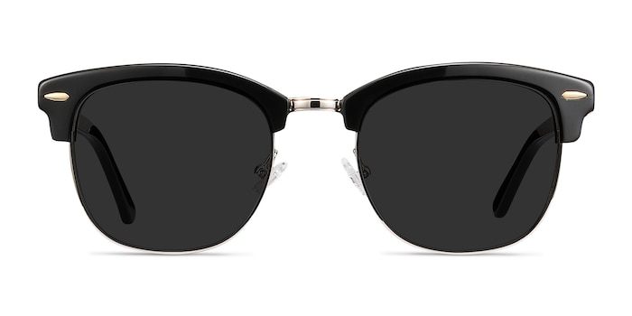 Strata Black Acetate-metal Sunglass Frames from EyeBuyDirect
