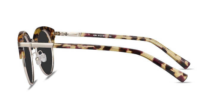 Kiri Tortoise Acetate-metal Sunglass Frames from EyeBuyDirect